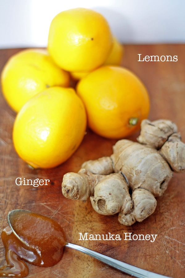 Lemon, Honey, Ginger Drink