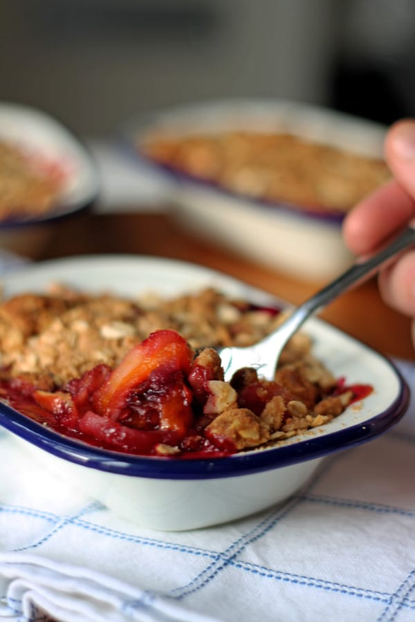 Tamarillo Almond Crumble Crunch