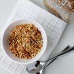 Hazelnut, Fig and Honey Granola