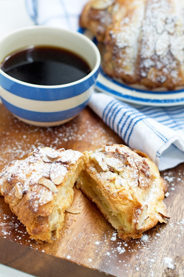 Cheat's Almond Croissants | www.mylittlelarder.com