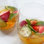 Classic Pimms Cocktail | www.mylittlelarder.com