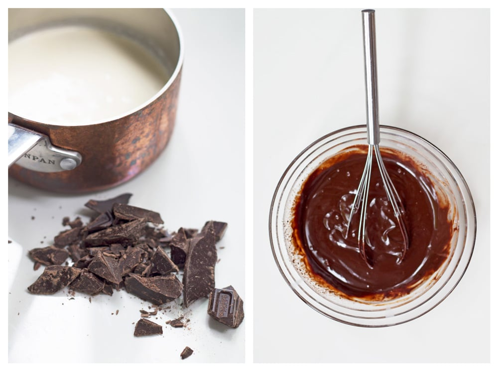 Easy Bittersweet Chocolate Truffles | mylittlelarder.com