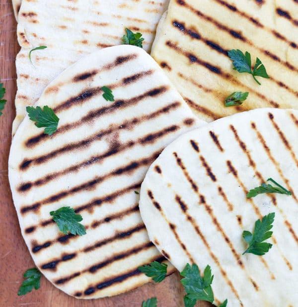 Five Minute Flatbread | www.mylittlelarder.com
