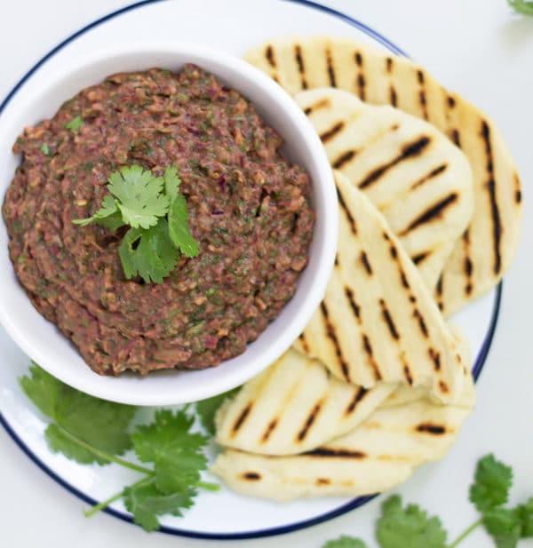 Spicy Kidney Bean Dip | www.mylittlelarder.com