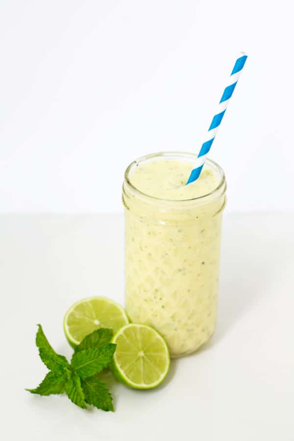 Mango and Mint Lassi | mylittlelarder.com