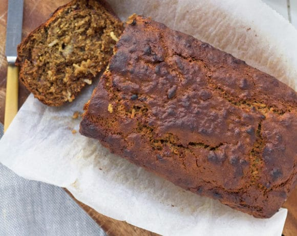Banana, Coconut and Date Bread