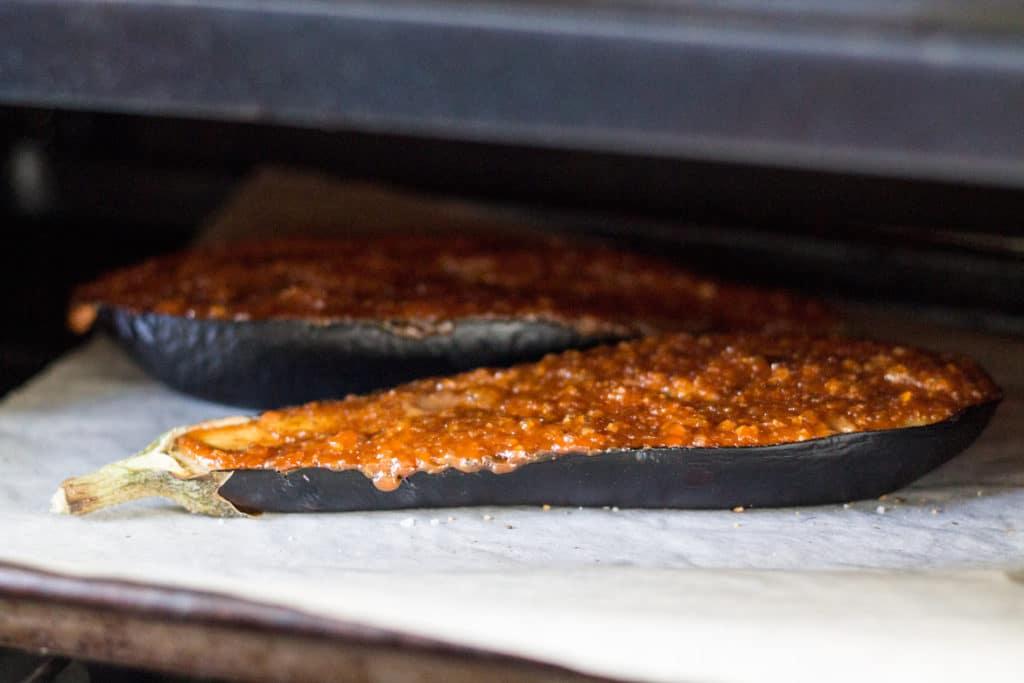 minute miso glazed toaster oven salmon ginger miso glazed eggplant ...