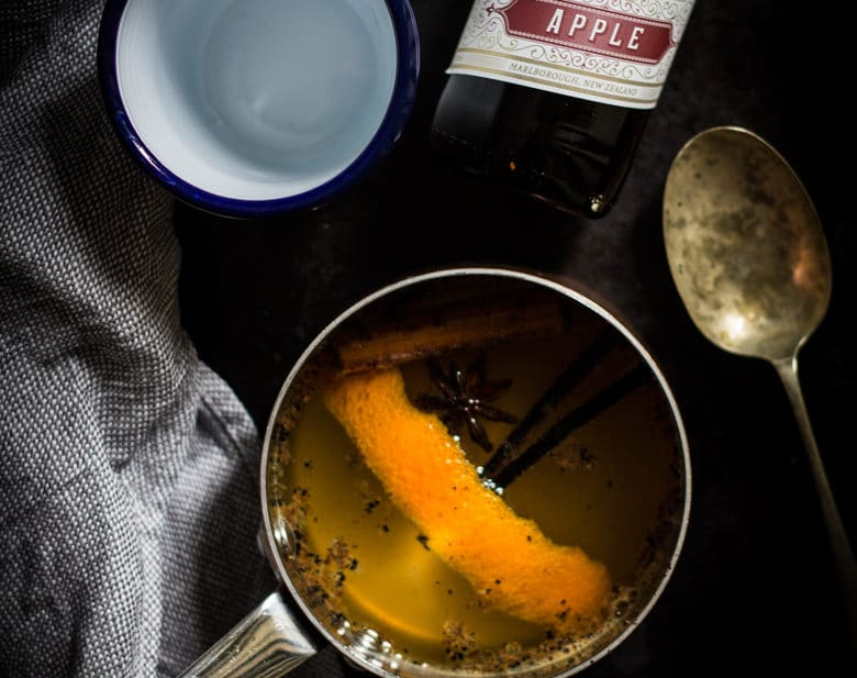 Mulled Apple Cider | mylittlelarder.com