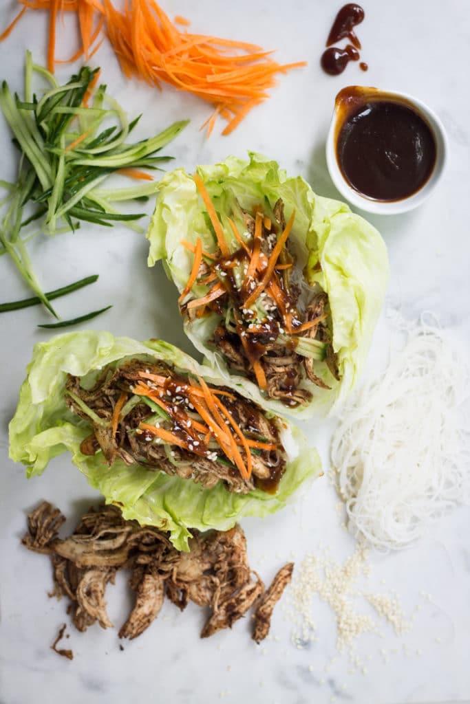 5 Spice Lettuce Cups | mylittlelarder.com