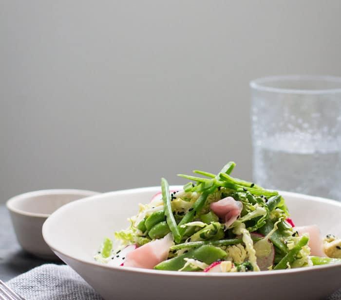 Edamame and Miso Salad