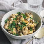 Cauliflower with Tahini Sauce