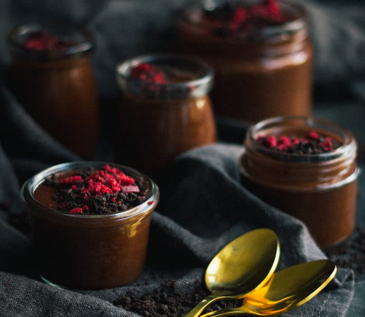 Cheat's Chocolate Mousse Pots