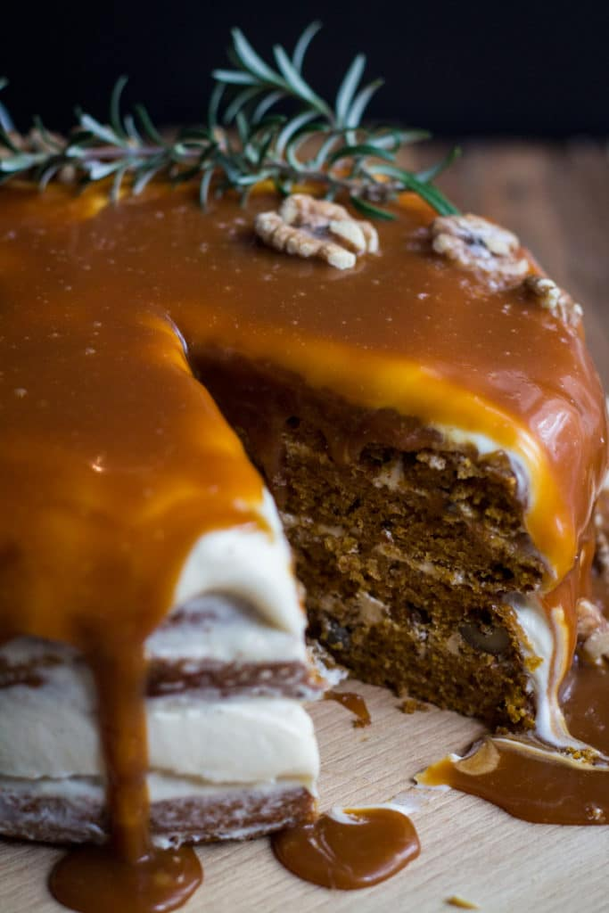 Spiced Pumpkin Layer Cake