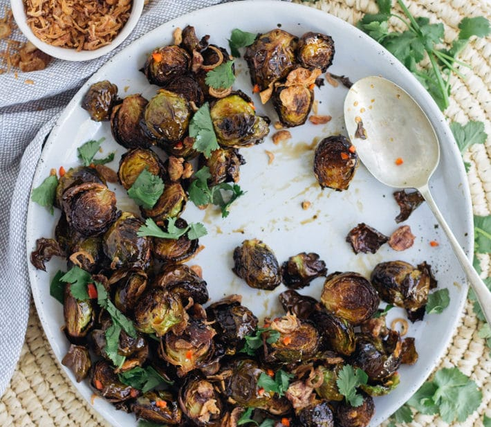 Best Ever Crispy Brussel Sprouts
