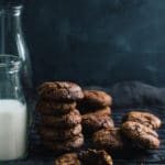 Luxury Dark Chocolate and Nut Cookies