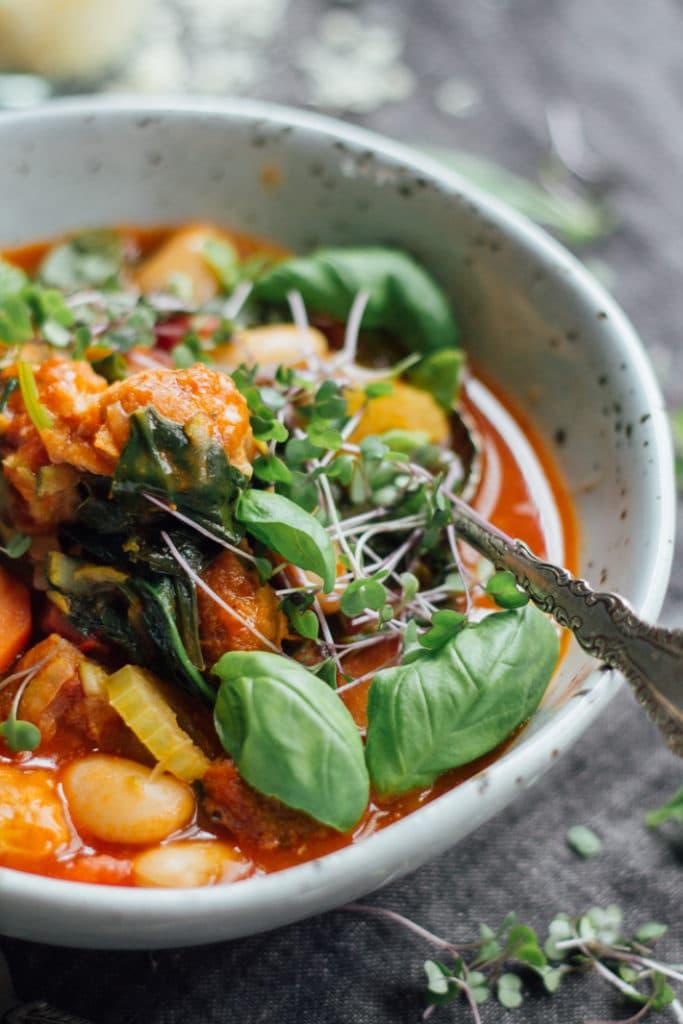 Rachel's Tomato Pork and Fennel Soup