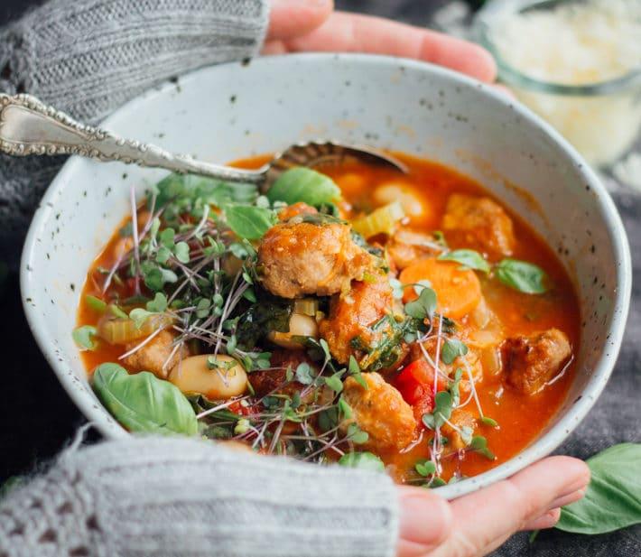 Rachel's Tomato, Pork and Fennel Soup