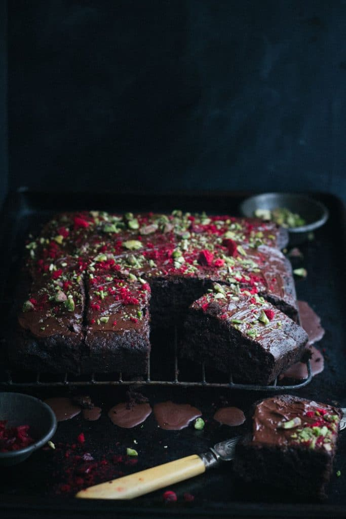 6 Minute Chocolate Cake