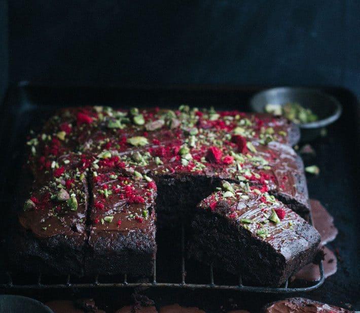 6 Minute Chocolate Cake