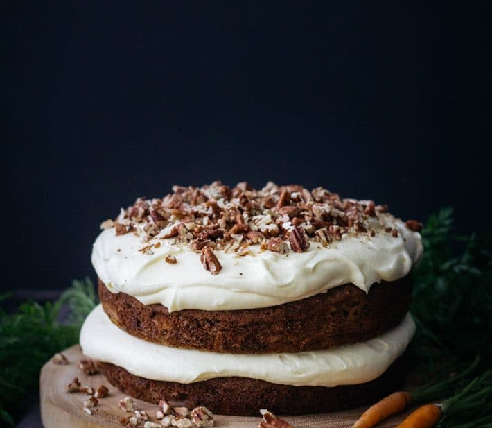 Best Ever Carrot and Pecan Cake