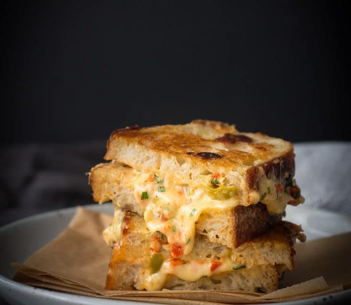 Ultimate Spicy Grilled Cheese Toastie Sandwich + Announcement