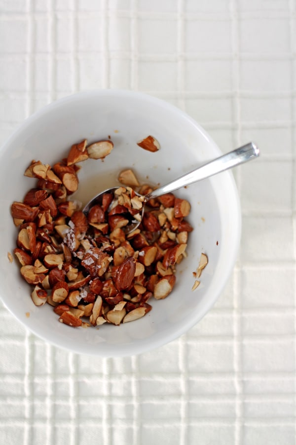 Salted Maple Almonds