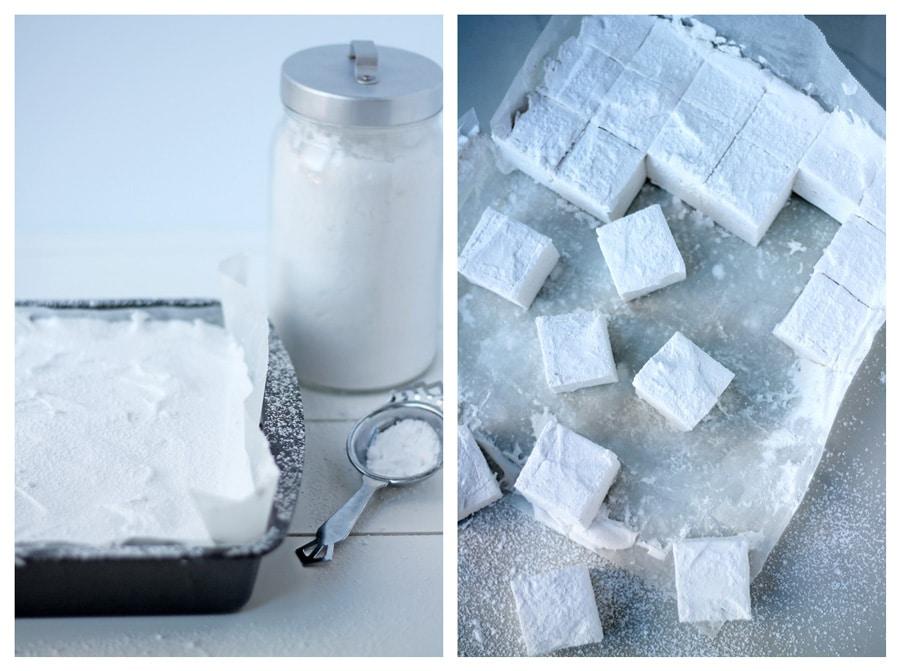 Homemade Vanilla Marshmallows   mylittlelarder.com