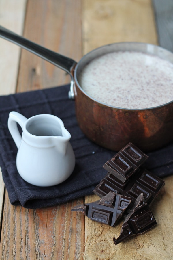 Grown Up Hot Chocolate Ingredients   mylittlelarder.com