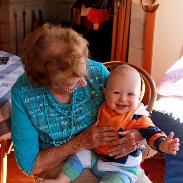 Nana and George   mylittlelarder.com