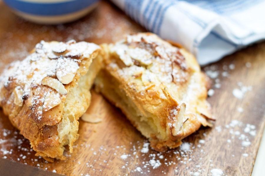 Cheat's Almond Croissants | www.mylittlelarder.com