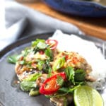 Grilled Chilli and Lime Chicken | mylittlelarder.com