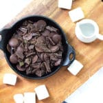 Grown Up S'mores Dip with Homemade Graham Crackers | mylittlelarder.com
