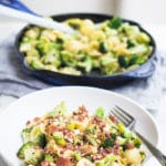 Broccoli and Lemon Orecchiette | mylittlelarder.com
