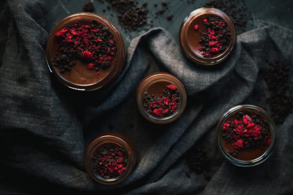 Cheat's Chocolate Mousse Pots