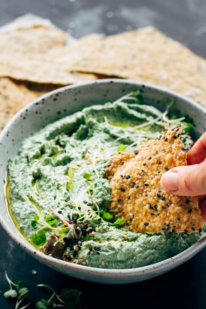 Spinach and Feta Dip | My Little Larder