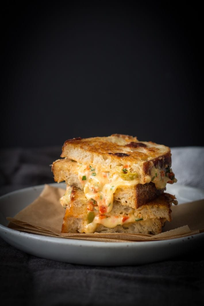 Ultimate Grilled Cheese Toastie | mylittlelarder.com