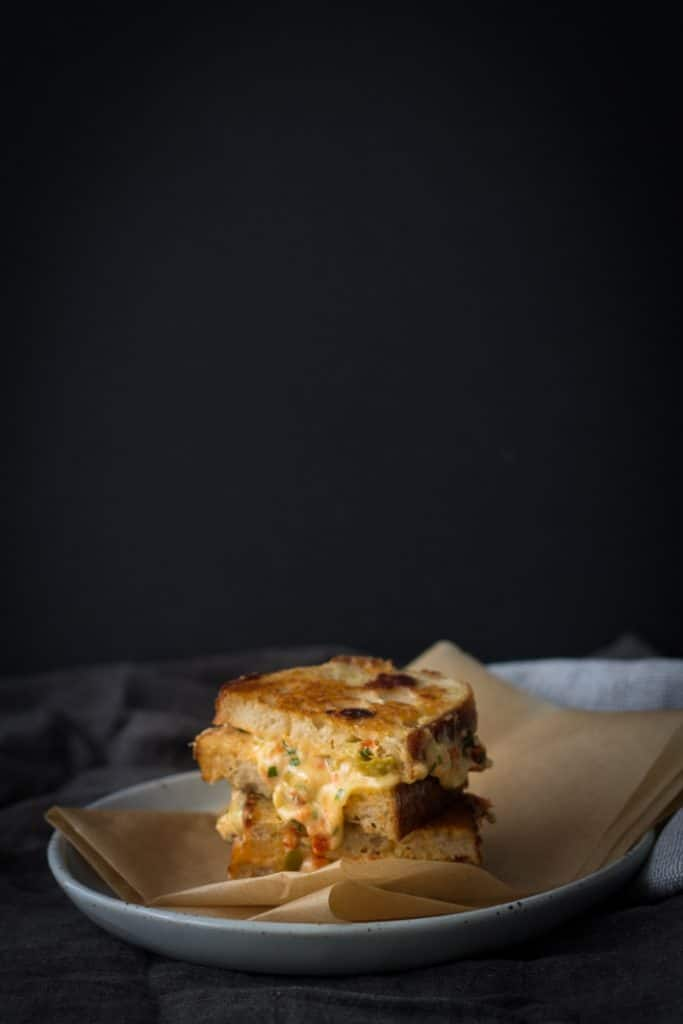 Ultimate Grilled Cheese Toastie | mylittlelarder.com